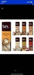 Vendo cápsulas de café tres ameno e vibrante