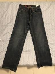 Excelente oportunidade. Duas calças jeans infantis Tommy Hilfiger Original TAM 10