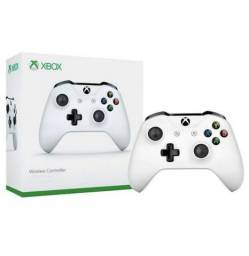 Branco Controle Xbox One - Novo - Lacrado - Nota fiscal - Garantia