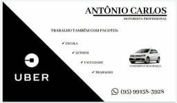 Motorista profissional - Uber