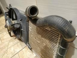 Kit radiador Corsa 1.6 16v com ventoinha, Original