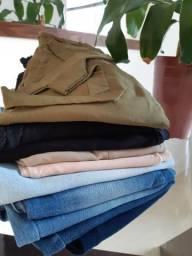 Lote de calças femininas