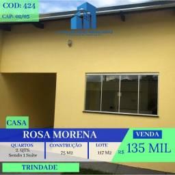Casa De 2 Quartos - Rosa Morena - Trindade