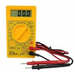 Multímetro Digital Dt-830 Portátil Profissional Com Bateria
