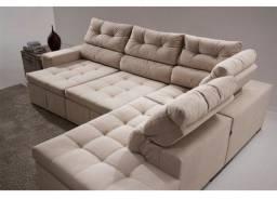 Sofa retratil e reclinavel ( sistema importado)