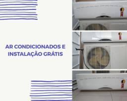 Ar condicionado com instalação grátis