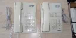 Aparelho de telefone fixo intelbras usado Bege