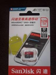 Vendo cartão de memória 128gb