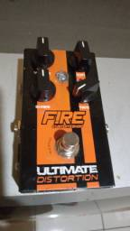 Pedal distortion Fire