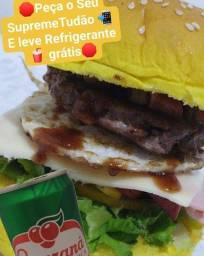 Supreme Tudão + Refrigerante