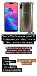 Zenfone max pro m2 (Entrego em Barra do Piraí)