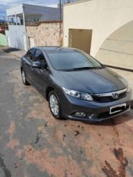 Honda/Civic LXS 12/13 Cinza