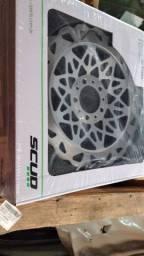 Disco médio 290mm fan/titan/bros