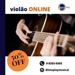 Aulas Online - Ukulele, Violão, Guitarra e Piano.