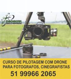 Curso de Pilotagem de drone para fotógrafos e cinegrafistas
