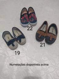 Sapatos infantis - Loja fechada