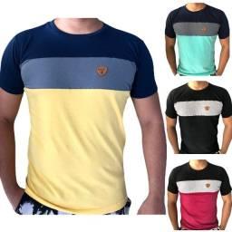 02 Camisas manga basic - listrada