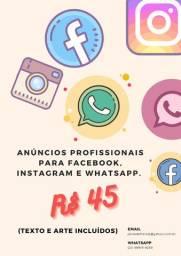 Arte e Anúncios Profissionais para Redes Sociais