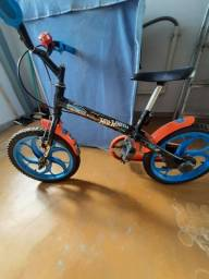Título do anúncio: Bicicleta infantil hot wheels aro 16