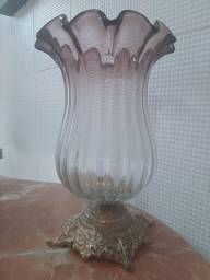 Murano  vaso lindo Antigo e luxuoso