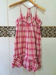 Vestido de Alcinha Quadriculado