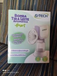 Bomba tira leite automática G-Tech, usado uma vez