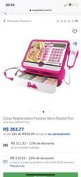 Título do anúncio: Caixa registradora Barbie