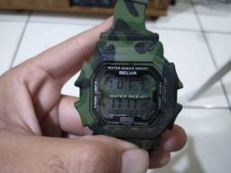 Relógio Exército Selva camuflado