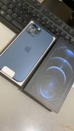 Título do anúncio: iPhone 12 Pro Max 128 GB Blue