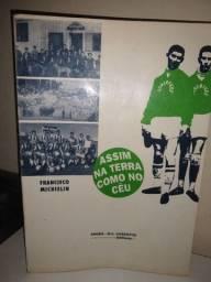 Livro do time de futebol Juventude autógrafado em 26/12/94