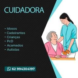 Cuidadora | Cuidadora de Idosos | Cuidadora de PcD