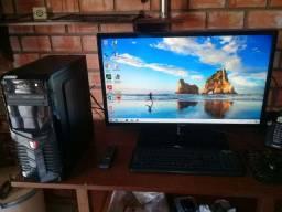 Computador i5 com 8gb e monitor tv 32 polegadas