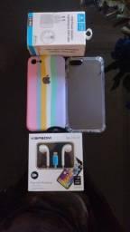 Título do anúncio: iPhone 8 64G aceita cartão parcela com juros