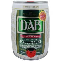 Barril de cerveja Dab importada 5litros