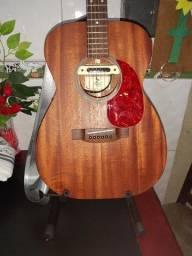 Violão Pallot 000 todo maciço com lrbaggs m80 Ativo/passivo.
