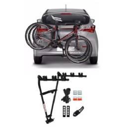 """Suporte Transbike Reboque com Presilhas tipo """"V"""" - 3 bikes"""