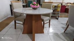 Mesa linda menor 4 lugares nova completa