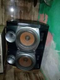 4 caixas de som SONY