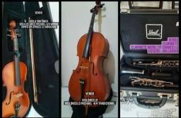 Título do anúncio: Vendo instrumentos musicais