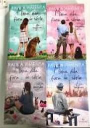 Coleção-minha Vida Fora De Série 1 2 3 4 de Paula Pimenta