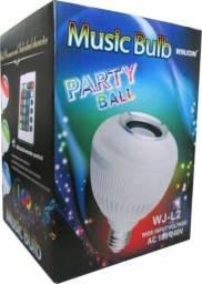Lampada Music Bulb Party Ball Bluetooth Led Com Controle Remoto