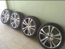 Vendo jogo de pneu e roda aro 17