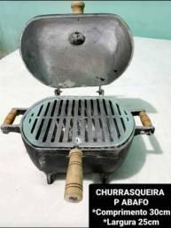 Título do anúncio: DE ALUMÍNIO BATIDO CHURRASQUEIRA A BAFO
