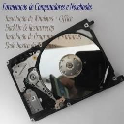 Título do anúncio: Instalação e formatação de computador