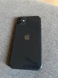 iPhone 11 64 GB preto impecável!!