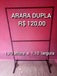 ARARA DUPLA R$ 120,00