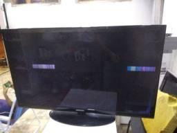Tv Samsung 40 polegada com defeito aceito troca por microondas.