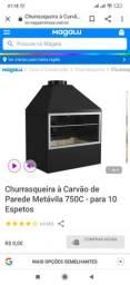Churrasqueira Metálica Parede