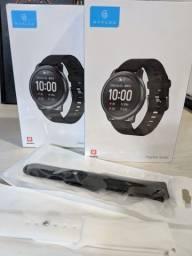 Relógio Haylou Solar LS05 + (Pulseira Extra + 2 Película) $220,00 12x S/ Juros