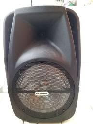 Caixa de som Mondial semi nova muito forte o volume